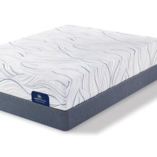 Serta Carriage Hill Plush 10″ Gel Memory Foam Queen Set – 50% Sale